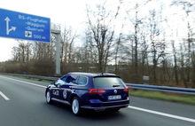 """Unterwegs auf dem neuen """"Testfeld Niedersachsen"""" zwischen Wolfsburg und Braunschweig"""